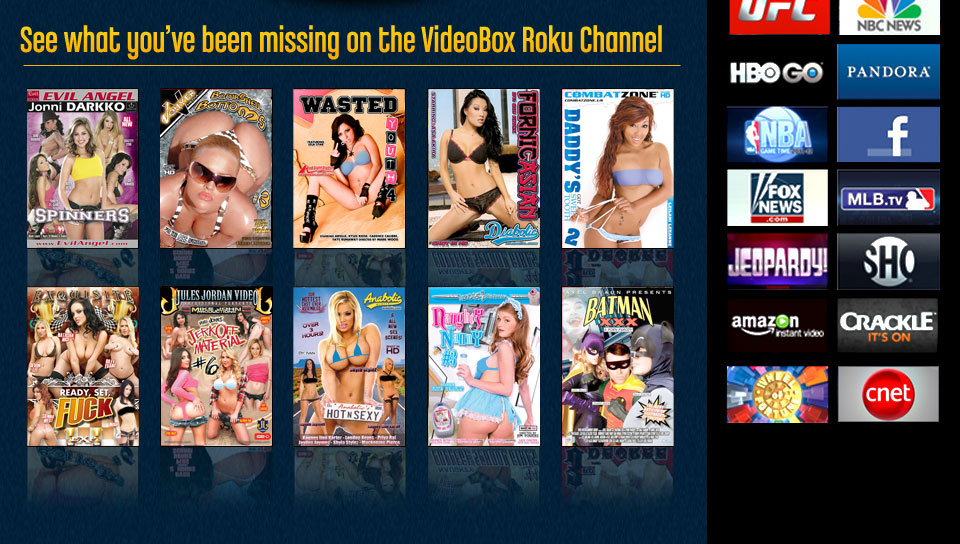 Adult channel dvds